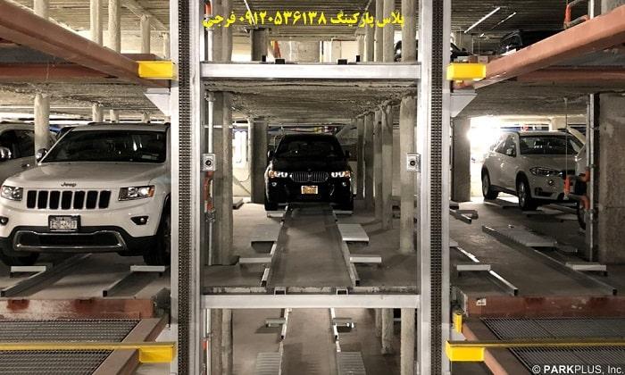 هزینه ساخت پارکینگ مکانیزه تمام هوشمند (FULL AUTO PARKING)