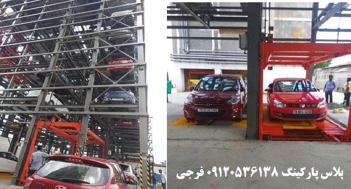 هزینه ساخت پارکینگ مکانیزه برجی (TOWER PARKING)