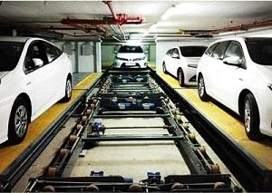 پارکینگ پازلی افقی تمام اتوماتیک