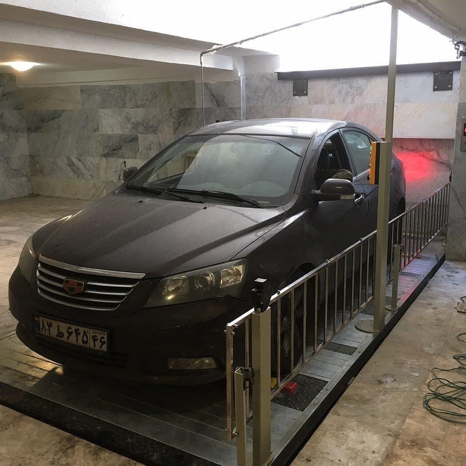 آسانسور خودرو بر یا بالابر خودرو مدل A